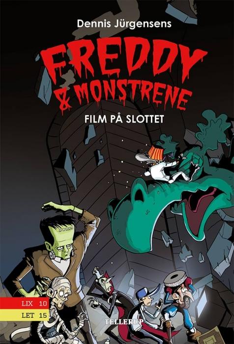 Freddy & monstrene #2: Film på slottet (E-bog)