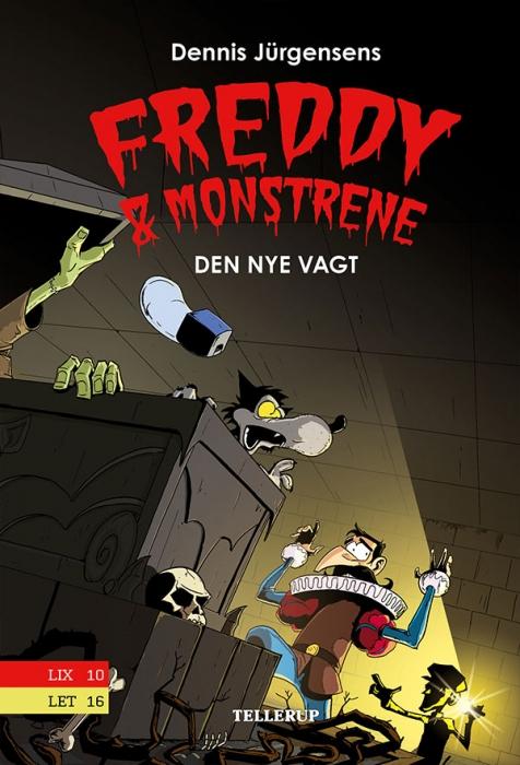 Freddy & monstrene #5: Den nye vagt (E-bog)