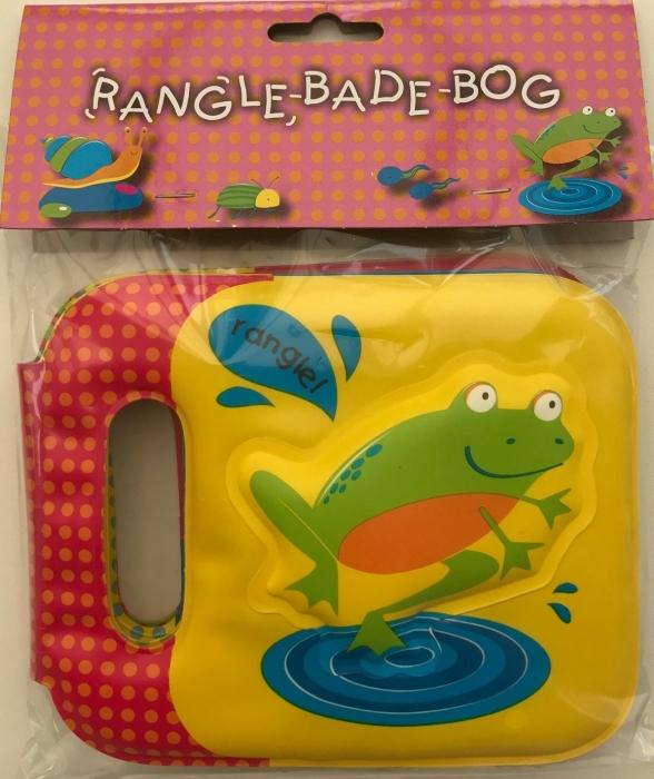 Rangle-badebog - frø (Bog)