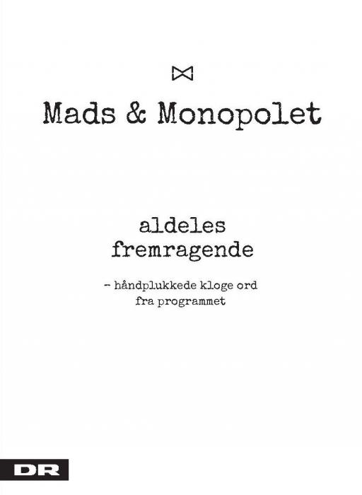 Image of   Aldeles fremragende (Bog)