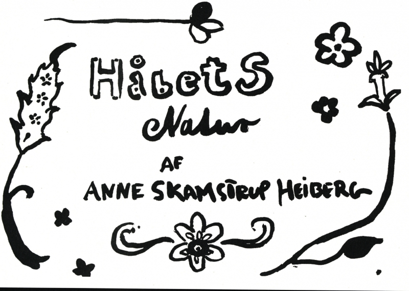 Image of Håbets natur (Bog)