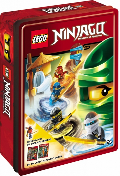 LEGO Ninjago Tinboks (Bog)