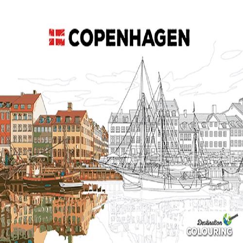 Colouring Copenhagen (Bog)
