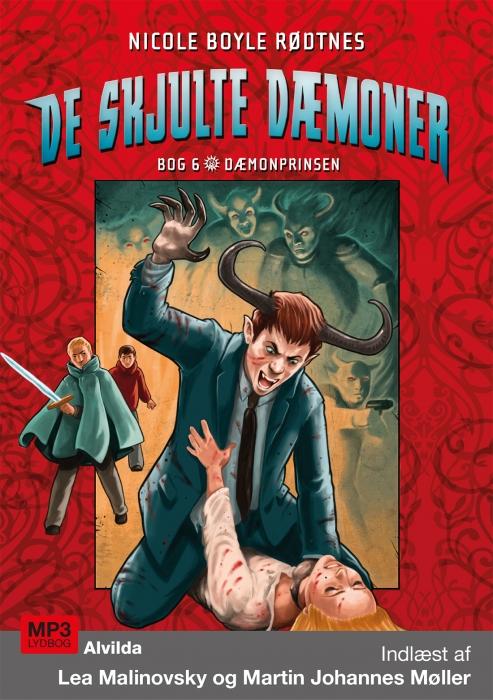 De skjulte dæmoner 6: Dæmonprinsen (Lydbog)