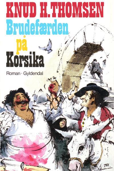 Brudefærden på Korsika (Lydbog)