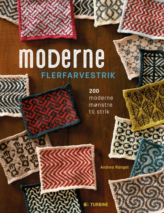 Image of Moderne flerfarvestrik (Bog)