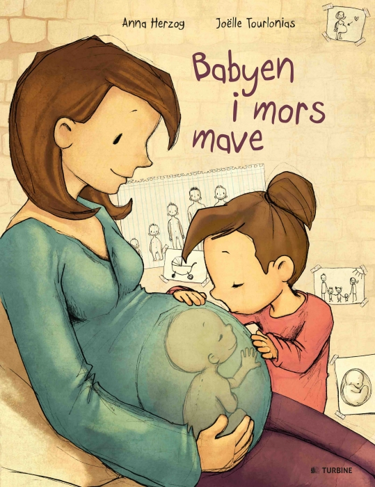 Image of   Babyen i mors mave (Bog)