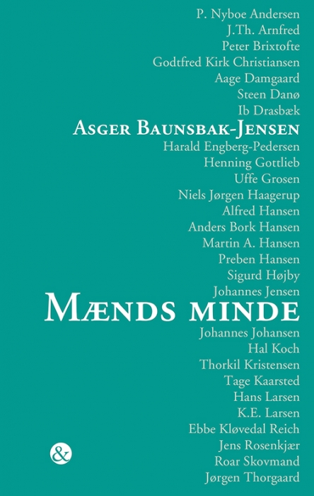Image of Mænds minde (Bog)