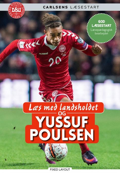 Image of   Læs med landsholdet og Yussuf Poulsen (E-bog)