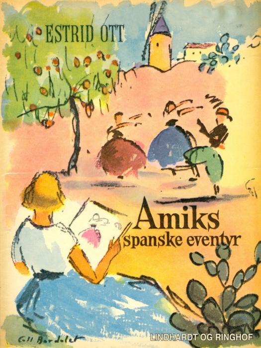 Image of   Amiks spanske eventyr (Bog)