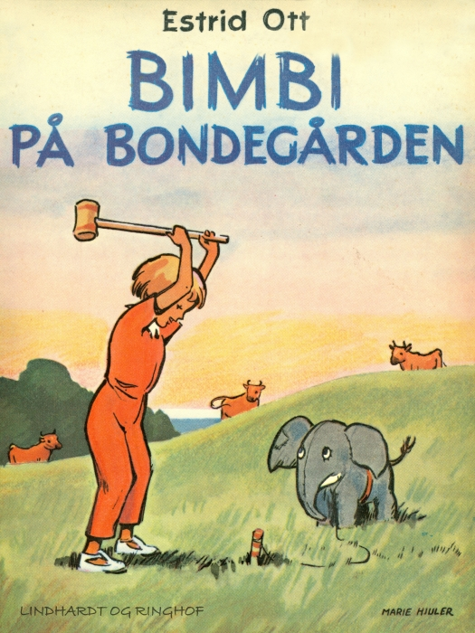 Image of   Bimbi på bondegården (Bog)