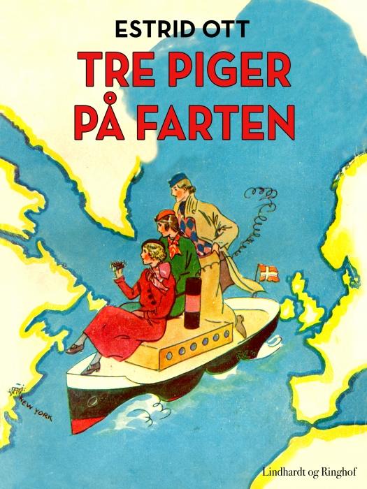 Image of   Tre piger på farten (Bog)