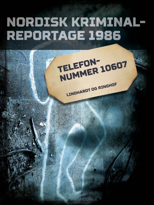 Telefonnummer 10607 (E-bog)
