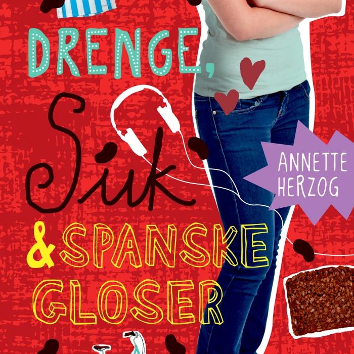 Image of Drenge, suk & spanske gloser. Drenge & ... 6 (Lydbog)
