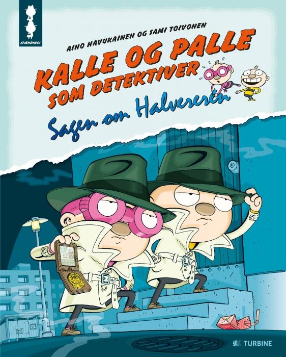 Image of Kalle og Palle som detektiver (Bog)