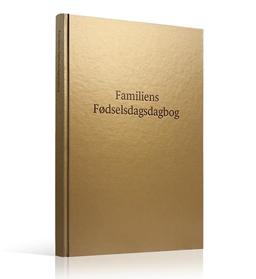 Image of Familiens Fødselsdagsdagbog (Bog)