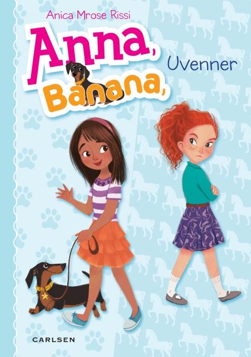 Image of Anna Banana 1: Uvenner (E-bog)