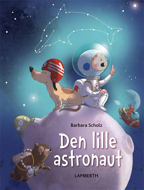 Image of Den lille astronaut (Bog)