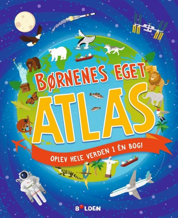 Image of   Børnenes eget atlas (Bog)