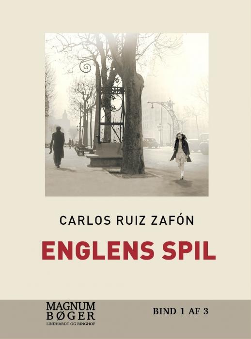 Image of   Englens Spil (storskrift) (Bog)