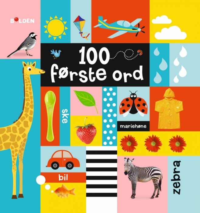 Image of   100 første ord (Bog)