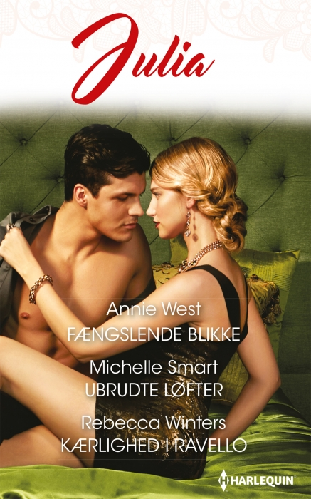 Fængslende blikke/Ubrudte løfter/Kærlighed i Ravello (E-bog)