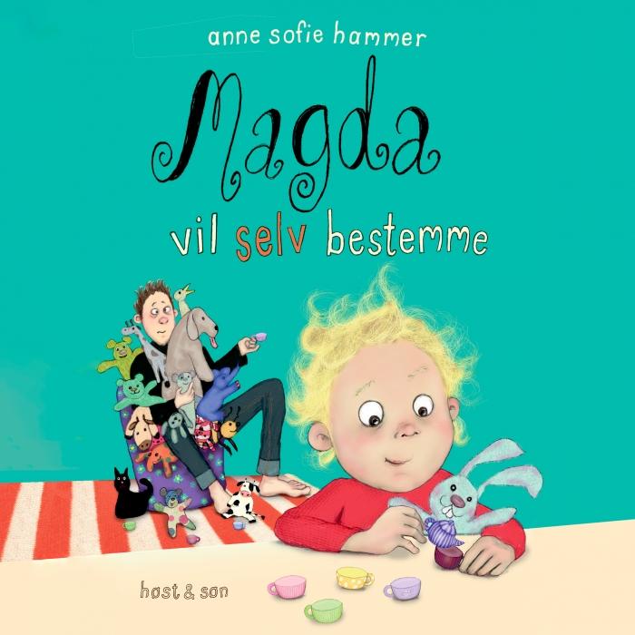 Image of Magda vil selv bestemme (Lydbog)