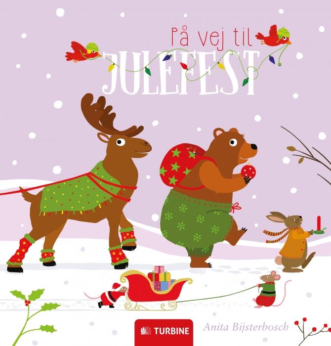 Image of På vej til julefest (Bog)