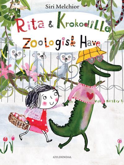 Image of   Rita og Krokodille. Zoologisk Have (Lydbog)