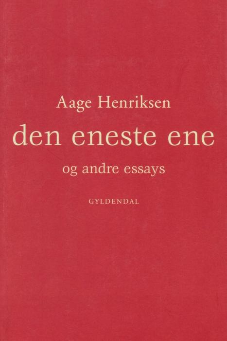 Image of Den eneste ene og andre essays (E-bog)