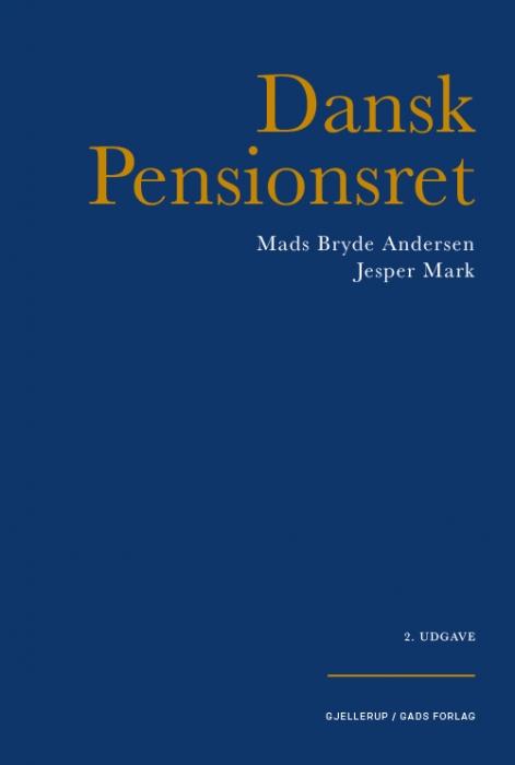 Image of   Dansk Pensionsret (Bog)