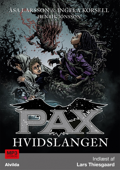 Image of PAX 8: Hvidslangen (Lydbog)