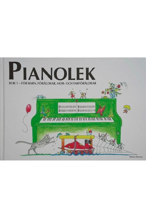 Pianolek bok 1 (grön) (Bog)