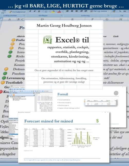 Image of   Excel til rapporter ... (Bog)