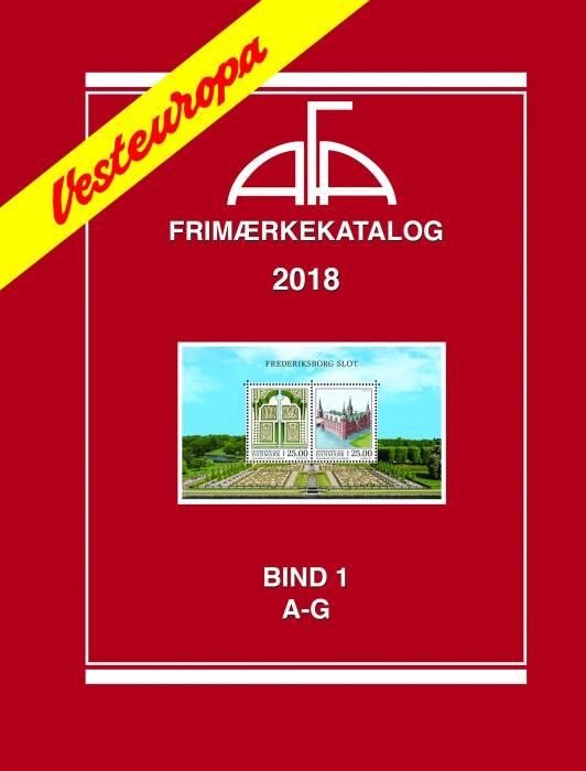 Image of   AFA Vesteuropa I 2018 (Bog)