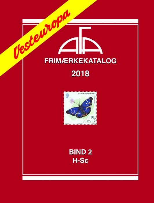 Image of   AFA Vesteuropa II 2018 (Bog)