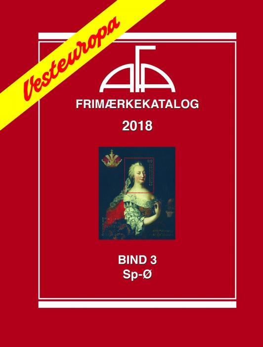 Image of   AFA Vesteuropa III 2018 (Bog)