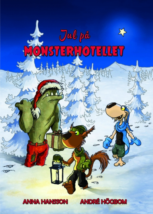 Image of Jul på Monsterhotellet (Bog)