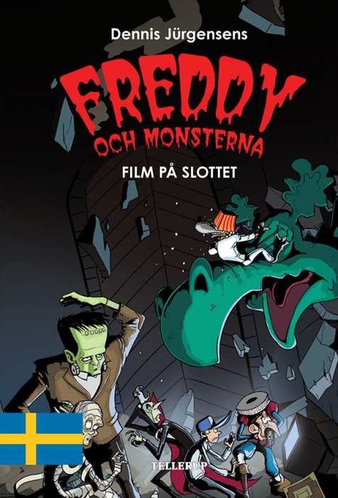 Freddy och monsterna #2: Film på slottet (E-bog)