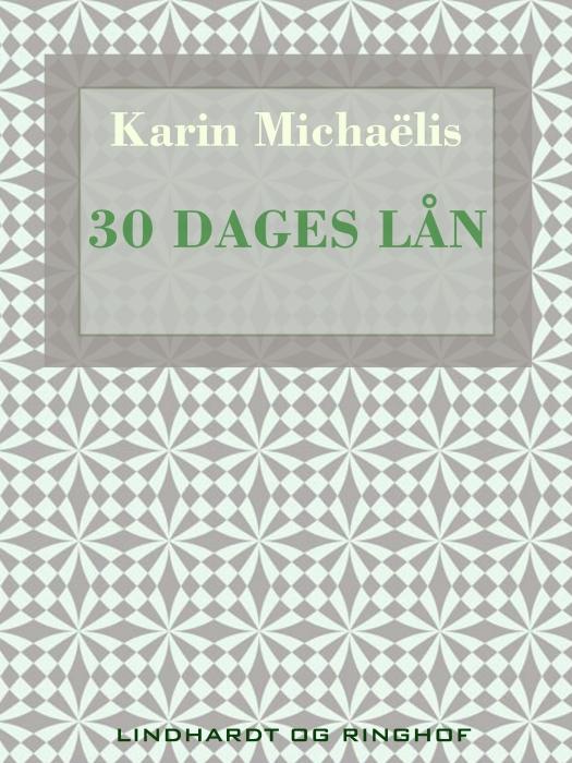 Image of   30 dages lån (Bog)