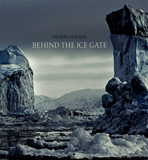 Behind the ice gate