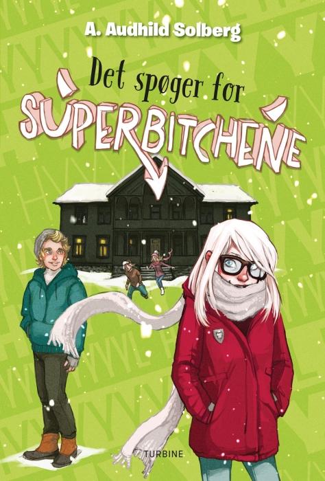 Image of Det spøger for Superbitchene (Bog)