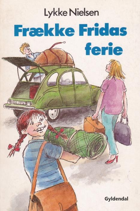 Frække Fridas ferie (E-bog)