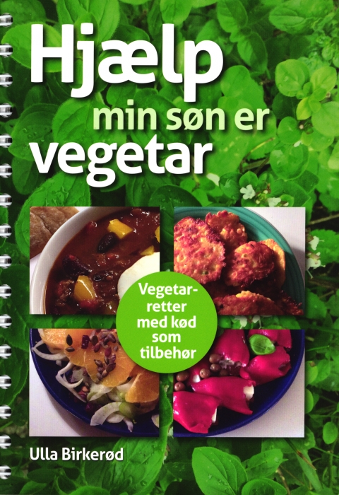 Hjælp - min søn er vegetar (Bog)