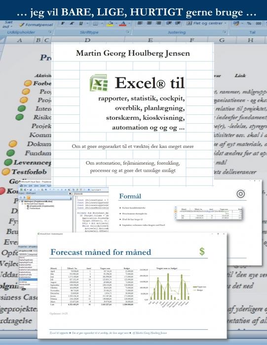 Image of   Excel til rapporter ... (E-bog)