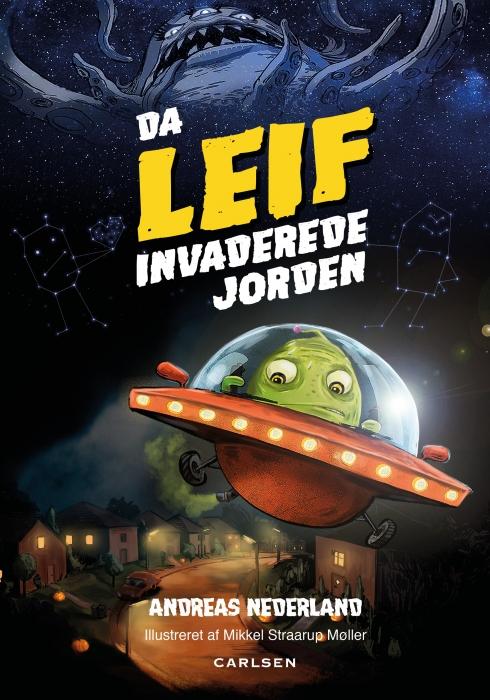 Image of Da Leif invaderede jorden (Lydbog)