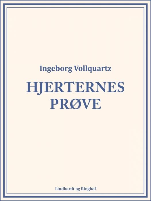 Image of   Hjerternes Prøve (Bog)
