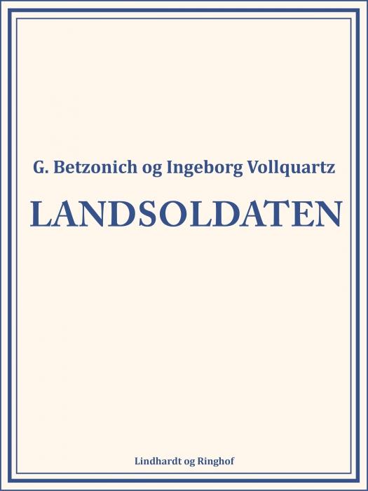 Image of   Landsoldaten (Bog)