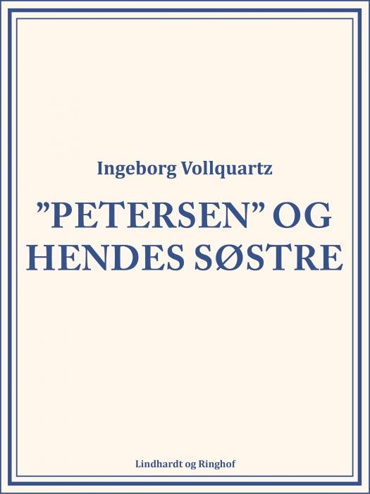 """Image of   """"Petersen"""" og hendes Søstre (Bog)"""