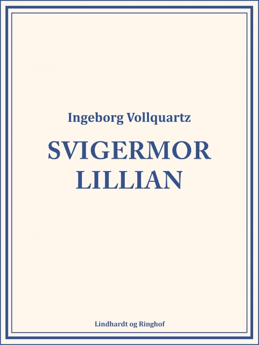 Image of   Svigermor Lillian (Bog)